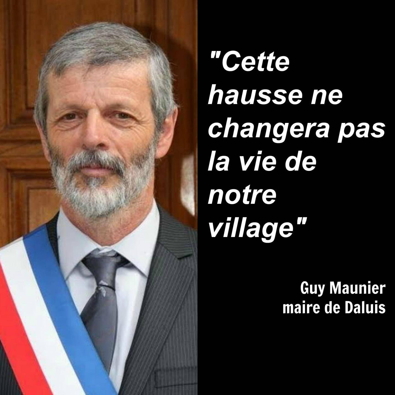 Guy Maunier, maire de Daluis