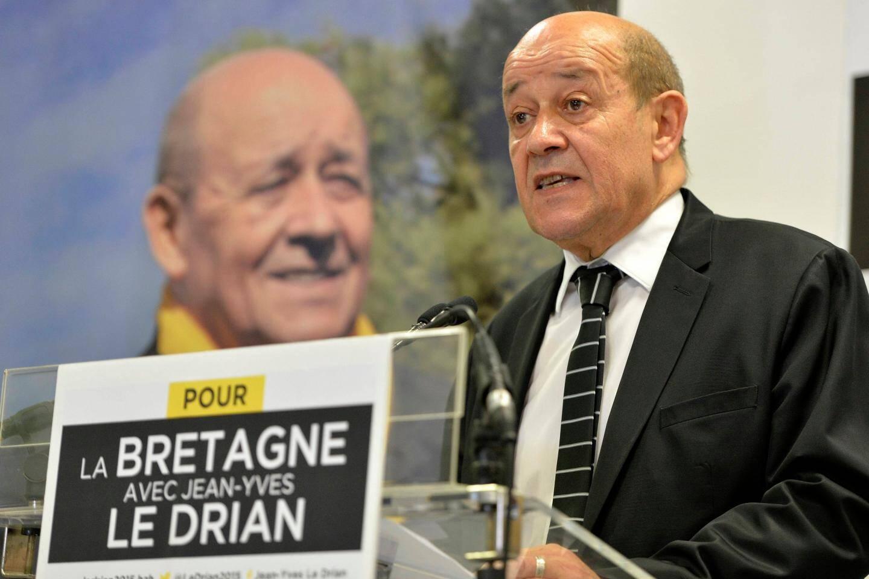 Le ministre de la Défense,Jean-YvesLe Drian, recueille près de 35 % des suffrages enBretagne.