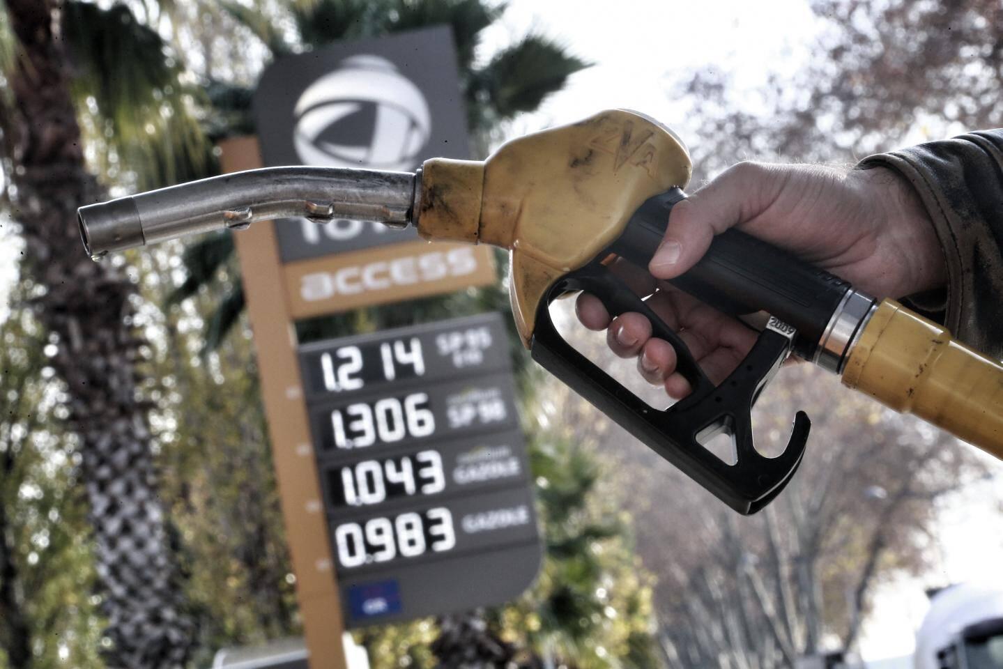 Illustration prix du carburant.
