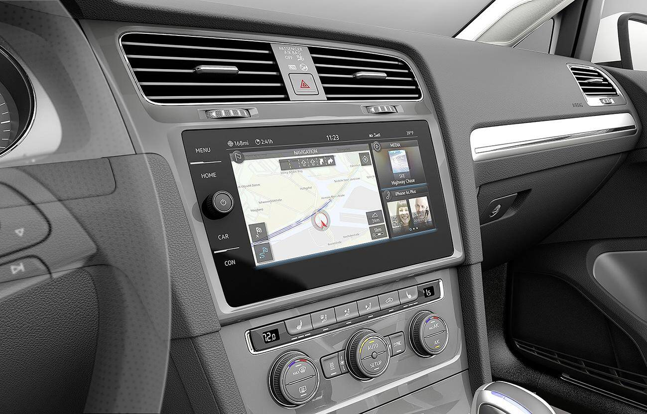 Essentiel pour la conduite autonome, ce Lidar de Velodyne, pas plus gros qu'un palet de hockey, crée une représentation 3D de l'environnement de l'auto.