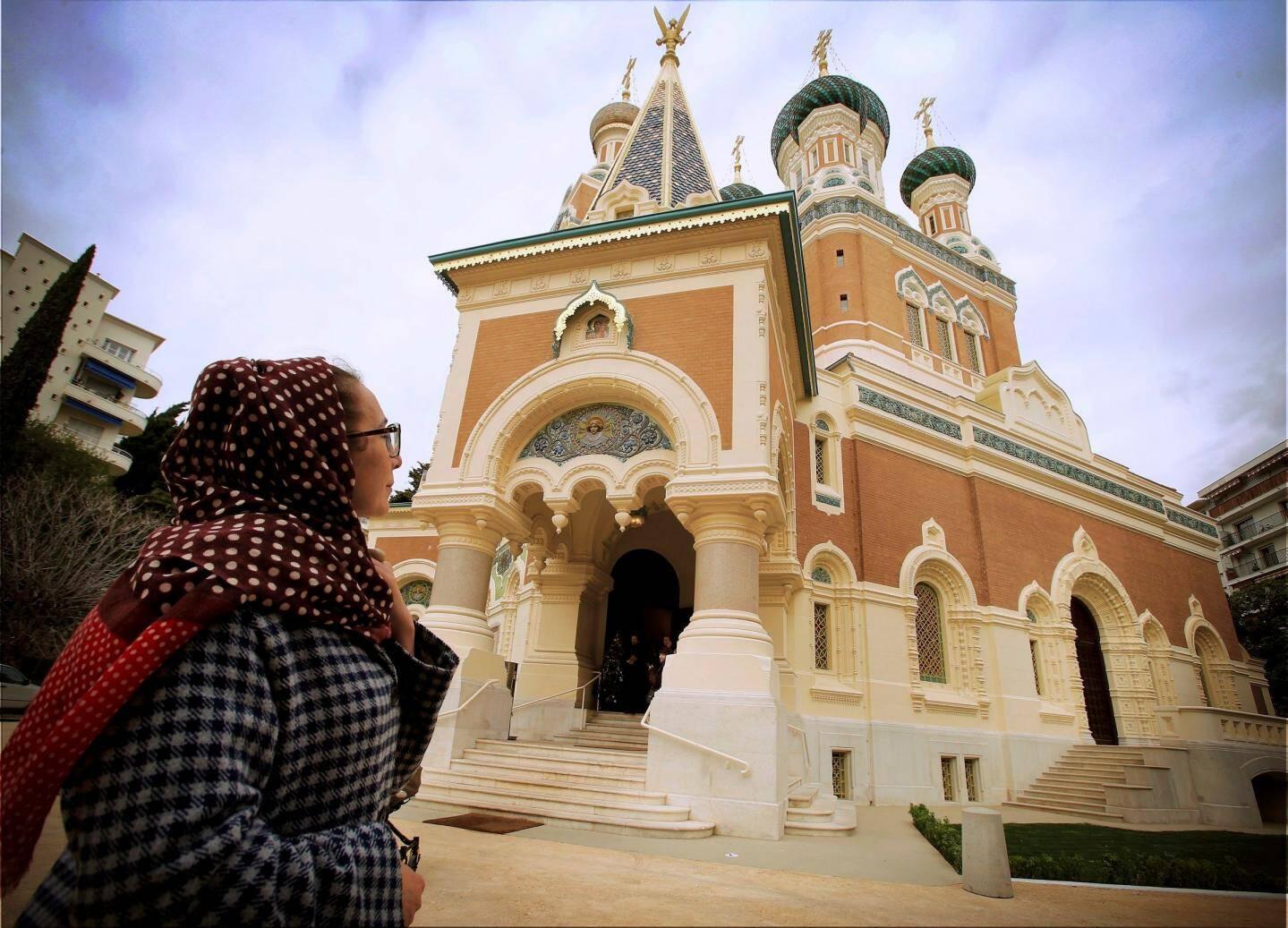 Les travaux de rénovation de la cathédrale, financés par la Russie, ont été inaugurés mi-janvier.