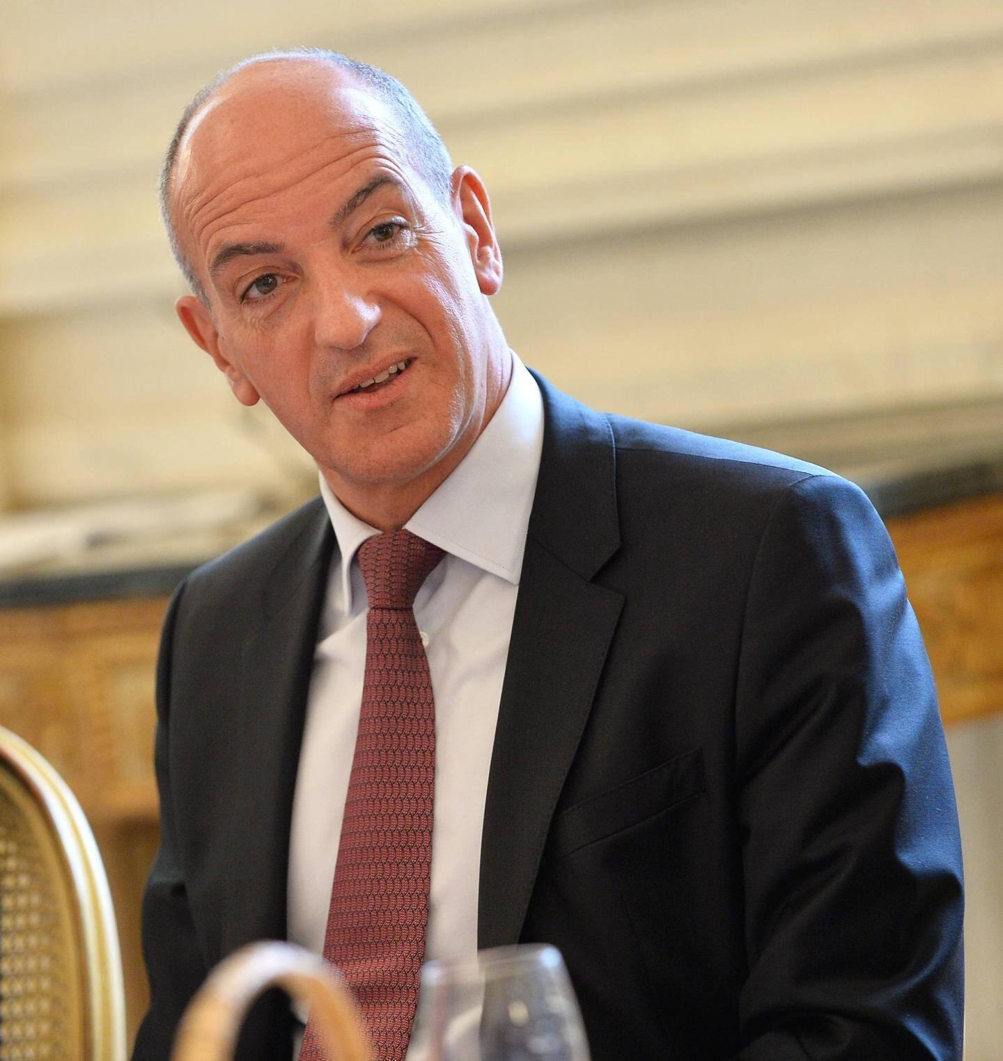 Christophe Bosson, directeur général de la Banque Populaire Côte d'Azur.