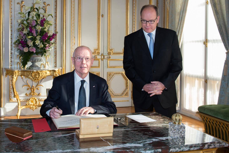 Le prince Albert II a défini les missions du nouveau chef de son gouvernement.