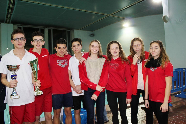L'équipe des minimes remporte quant à elle le trophée du meilleur club, terminant deuxième au niveau national. Des performances exceptionnelles pour le club monégasque cher à la présidente, Yvette Lambin-Berti.(DR)