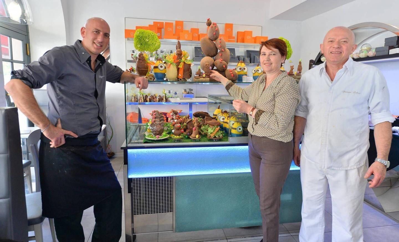 François, Brigitte et Philippe Laloue.