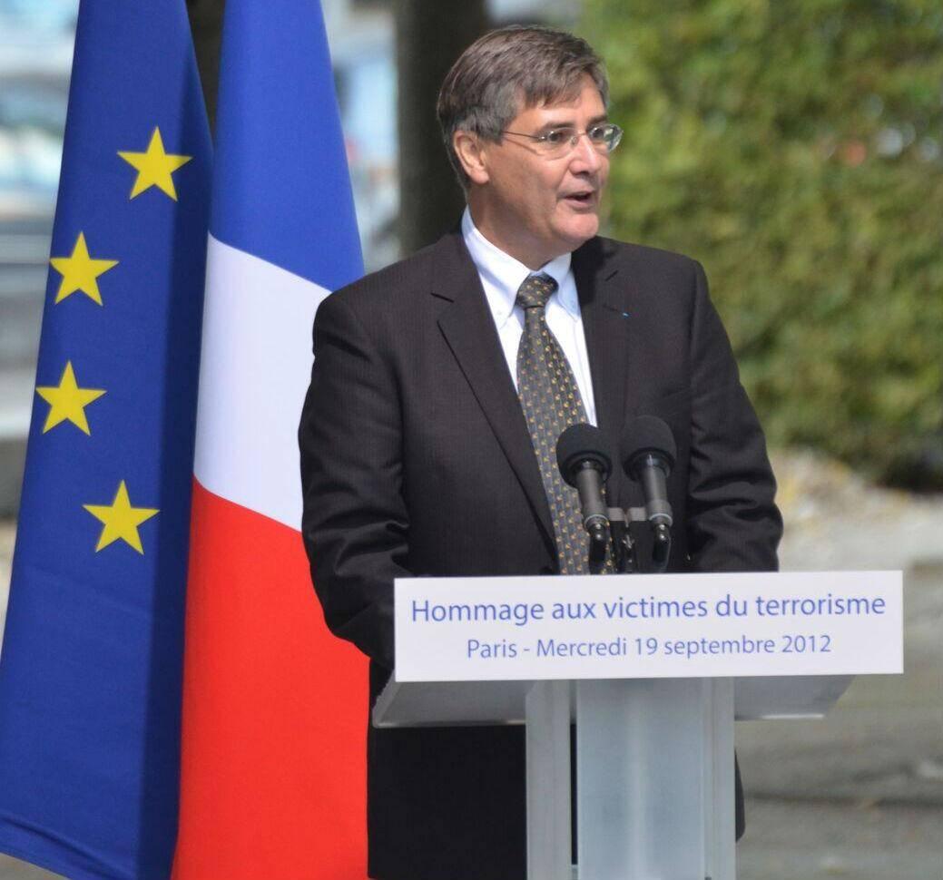 Guillame Denoix de Saint Marc, directeur de l'association française des victimes du terrorisme, lutte pour leur reconnaissance.