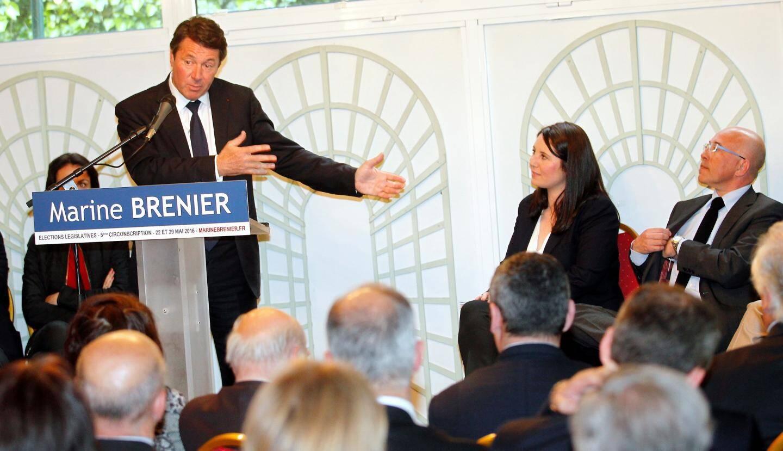 Marine Brenier se présente aux législatives le 22 mai prochain... dans la circonscription de son mentor Christian Estrosi.