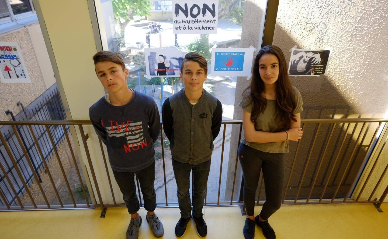 """Guilhem, Philippe et Julie disent """"non"""" au harcèlement"""