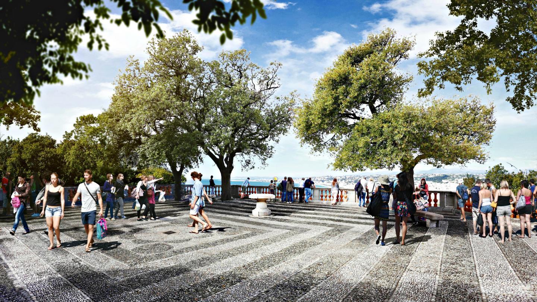 Après des réactions négatives sur le projet de réaménagement du site, la Ville présente et explique sa vision, et demande aux Niçois la leur.