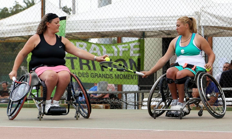 La paire Giuliaz Capocci et Annabelle Ribeaud a remporté le double.