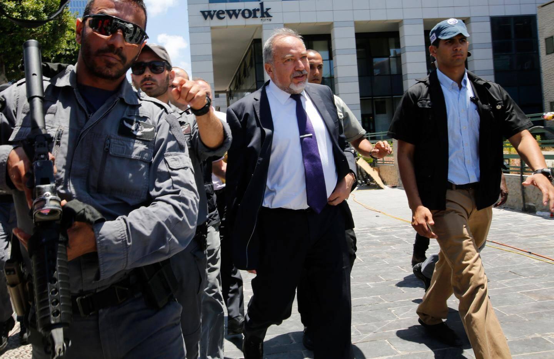 Le ministre israélien de la défense, Avigdor Lieberman