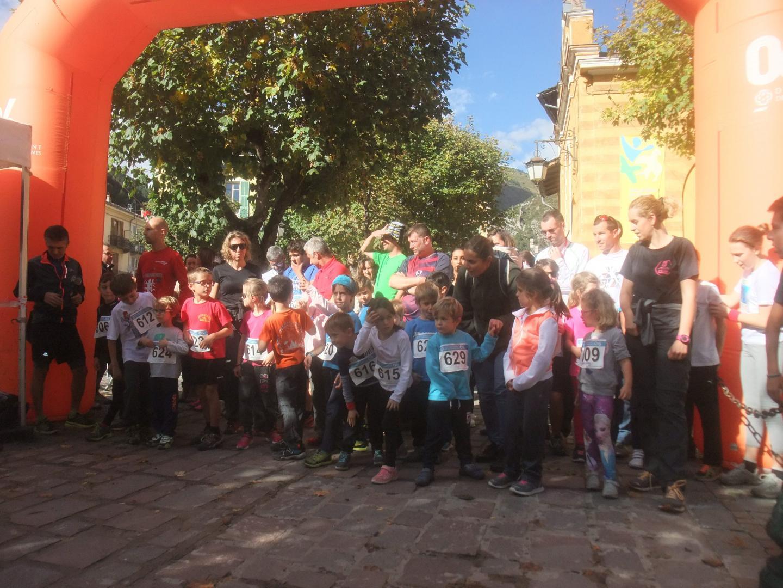 Les lauréats de cette 1e édition des mini et mini-ultra trail. Au total, 47 jeunes coureurs partipants.