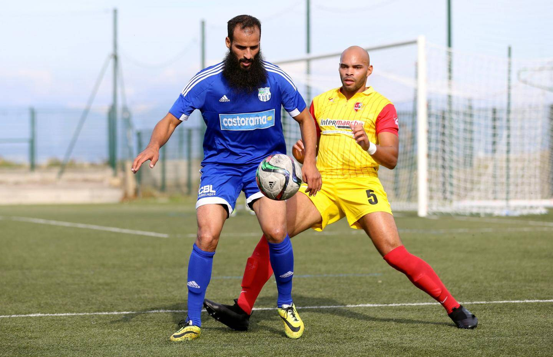 Malgré un bon jeu en pivot de l'attaquant El Abed, le FCA s'est incliné contre Roquebrune.