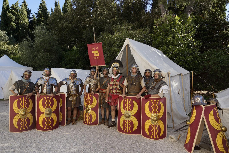 La Legio VI Ferrata animera «Monument jeu d'enfant».