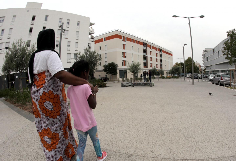 Quartier de l'Ariane à Nice.