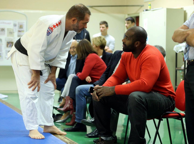 Le judoka a été reçu en audience privée par le souverain hier matin.