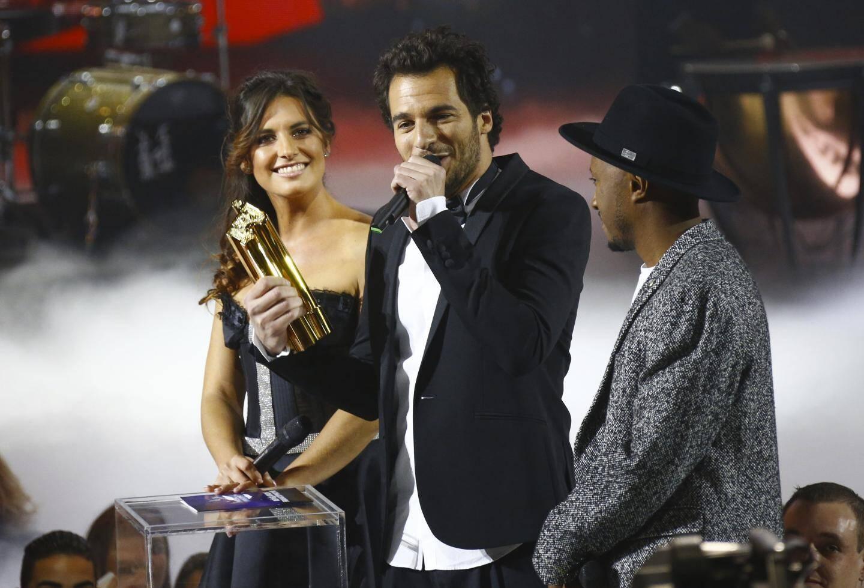 Ceremonie des NRJ Music Awards, le samedi 12 novembre 2016 au Palais des festivals de Cannes.AMIR