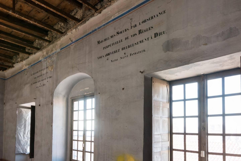 Dans la salle du chapitre haut, une chambre de 100 m2 sera aménagée, avec vue sur les toits du Vieux-Nice.
