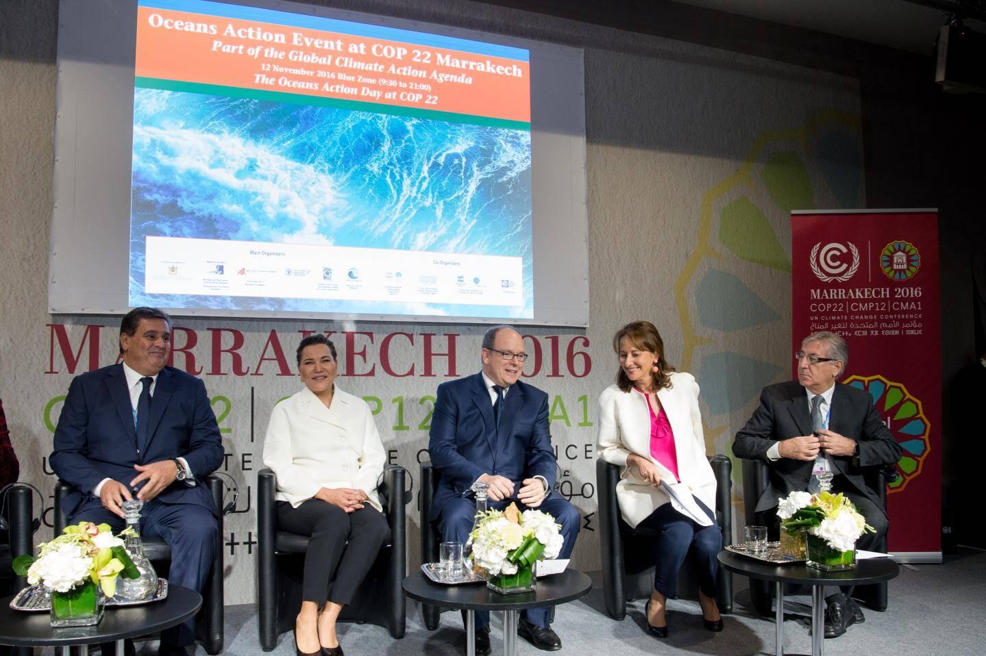 Samedi, le prince Albert II a prononcé le discours d'ouverture de la journée d'action des océans.