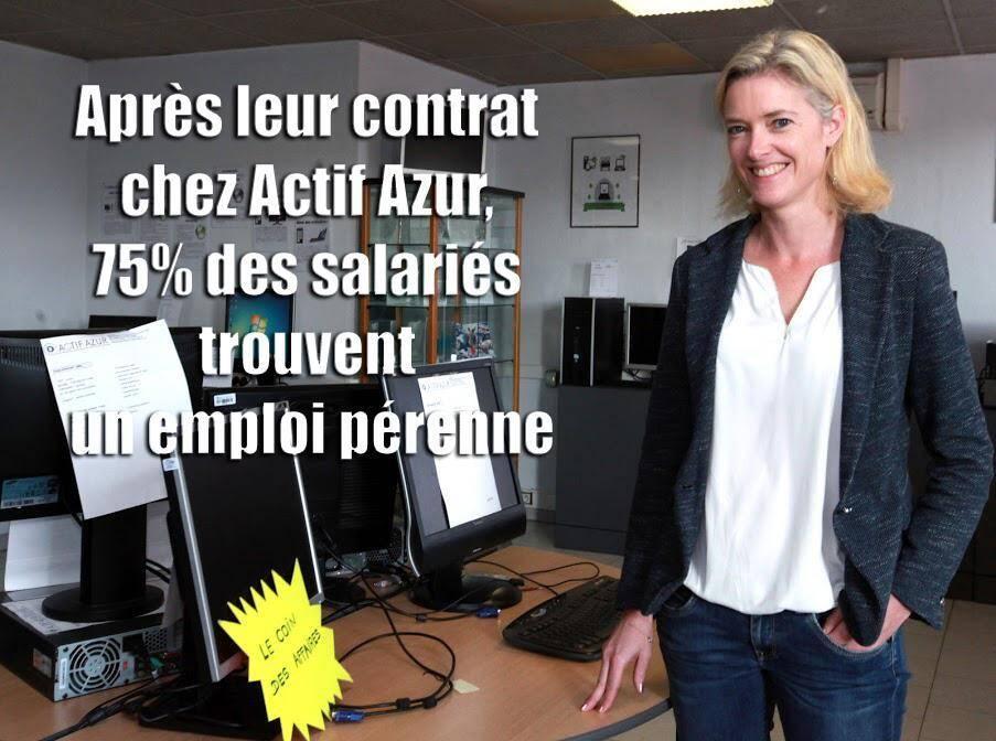 Virginie Jacquet, directrice d'Actif Azur.