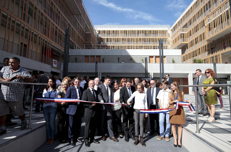 C'est dans la résidence Olivier-Chesneau, inaugurée en octobre, que s'est installé le Crous.