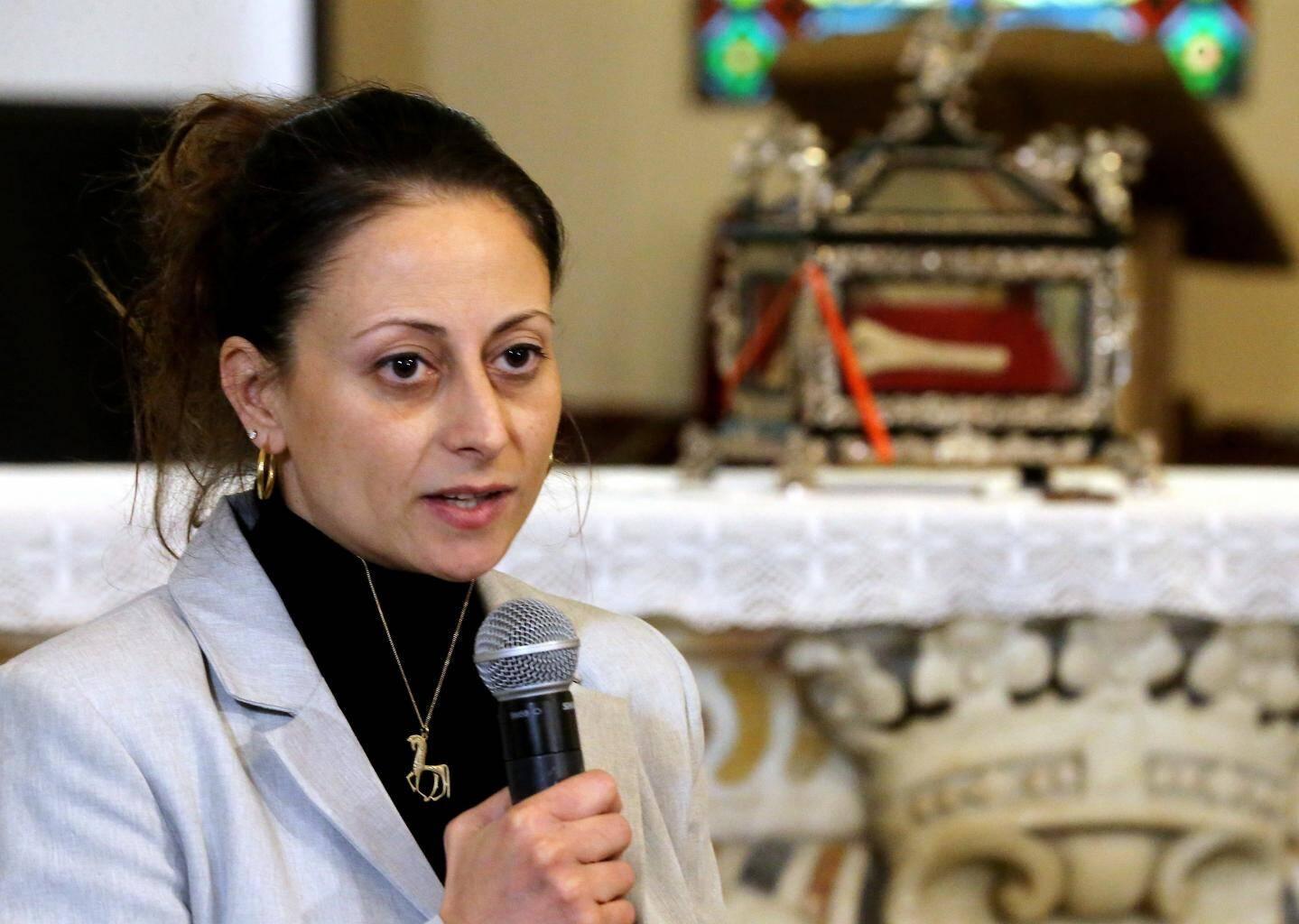 Elena Rossoni-Notter, chercheur archéologue, a conduit la mission scientifique qui a pris deux années pour décrypter les ossements vénérés.