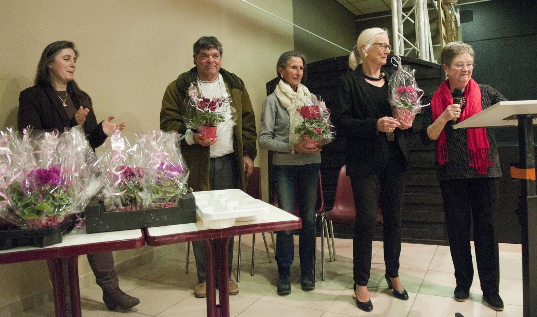 Ils ont été récompensés pour leur implication au concours des villages fleuris.