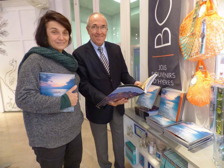 Christine de La Forest et Michel Dalmas, respectivement directrice et président de l'office de tourisme d'Hyères, sont à l'origine du projet.