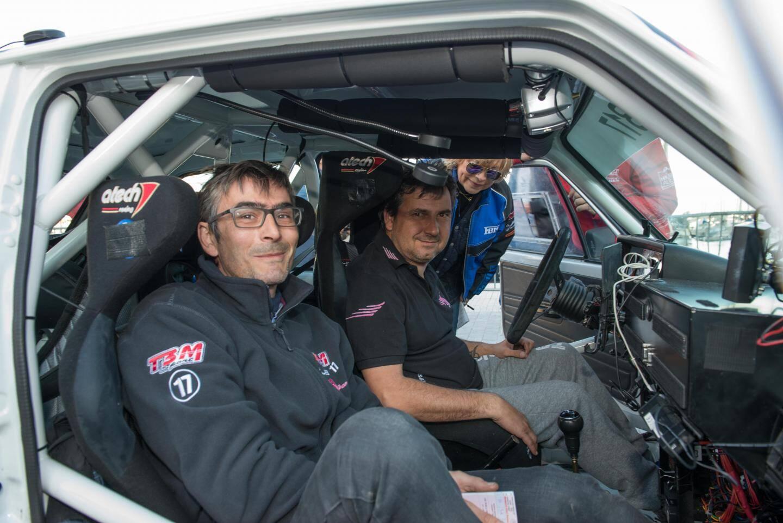 Daniel Elena et son ami Olivier Campana font partie des concurrents de l'Historique