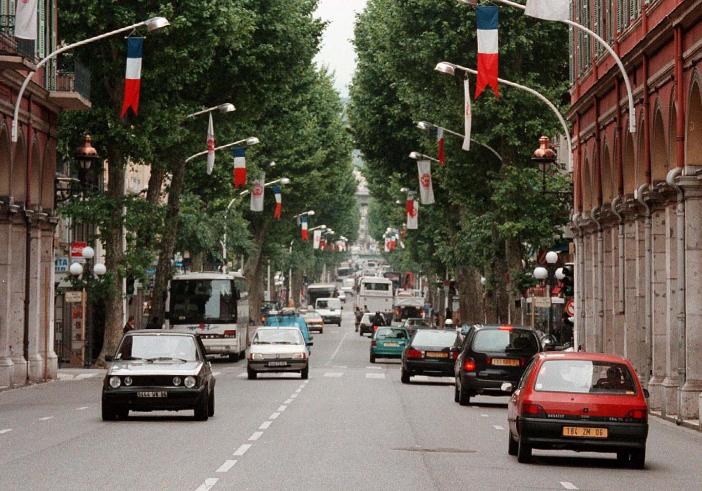 L'ancienne avenue Jean-Médecin.