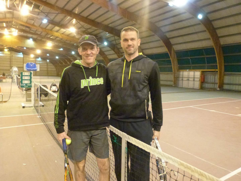 Franck Desloye et et Marc Elcheroth.