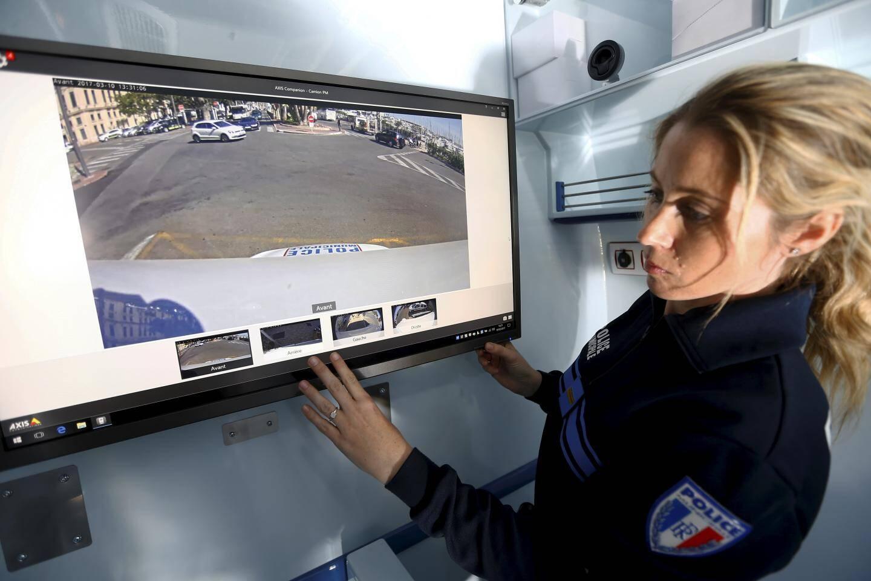 Sur cet écran, les agents peuvent se faire déporter les images de toutes les caméras du CPU.