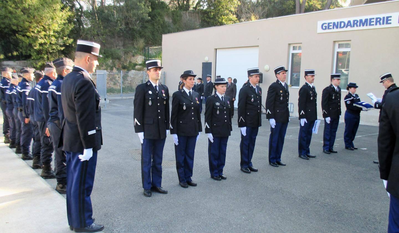 La brigade de Mougins compte 25 militaires. (Ph. I.V)