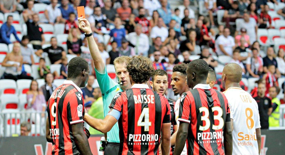 L'expulsion de SuperMario contre Lorient avait été annulée.