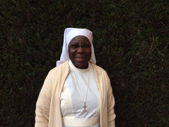 Mère Marie-Catherine Kingbo, de la Fraternité des Servantes du Christ au Niger.