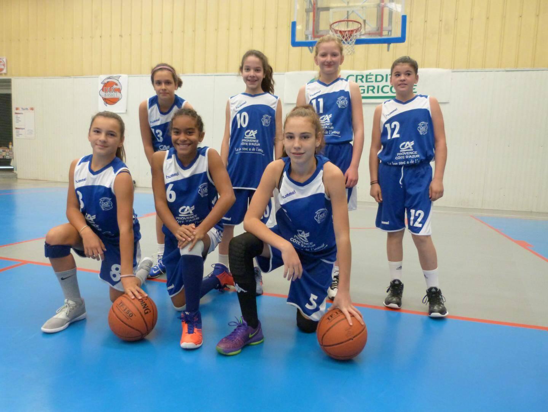 Les U13 filles (PACA) logiquement dominées à La Valette.