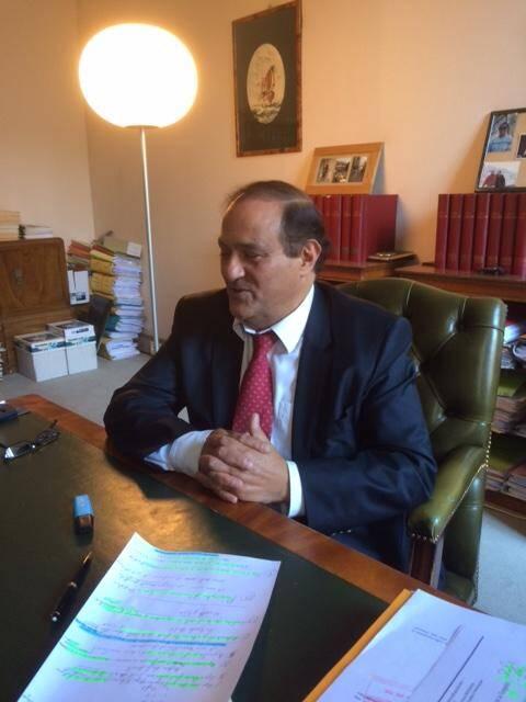 Me Mebarek, l'avocat d'En-Nour