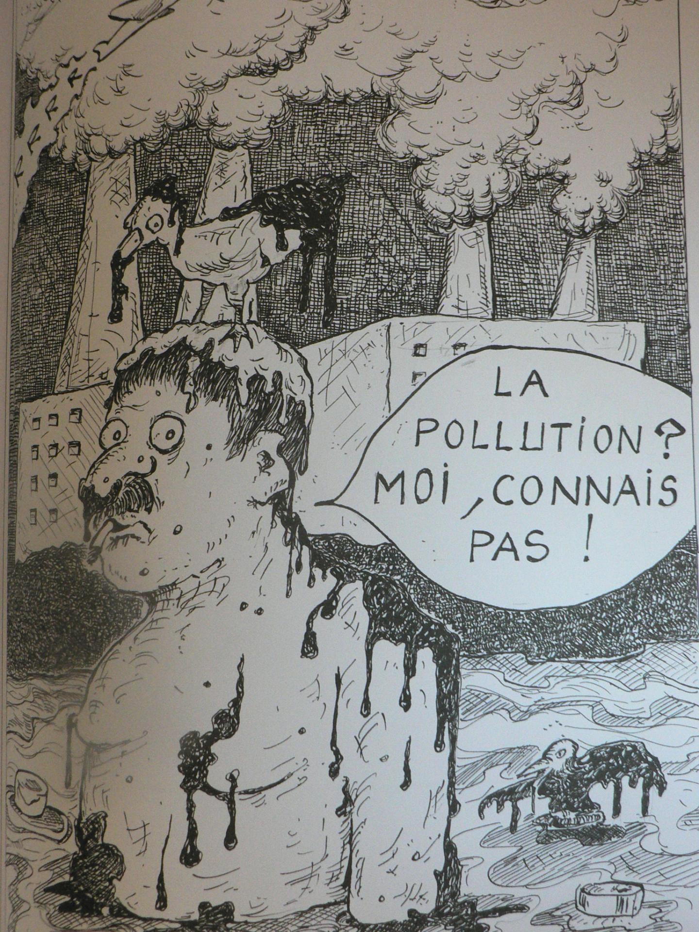 En découvrant les dessins de l'artiste, Alain Bombard lui avait confié : que la réalité n'atteigne jamais l'horreur de ces images ».