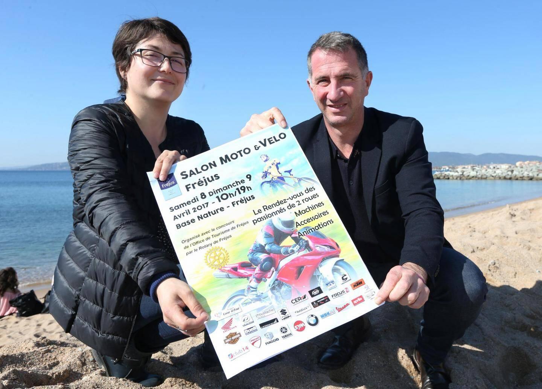 L'office de tourisme et Cécile Vincenti ont suivi Grégoire Tabbagh, président du Rotary de Fréjus, dans cette nouvelle aventure.