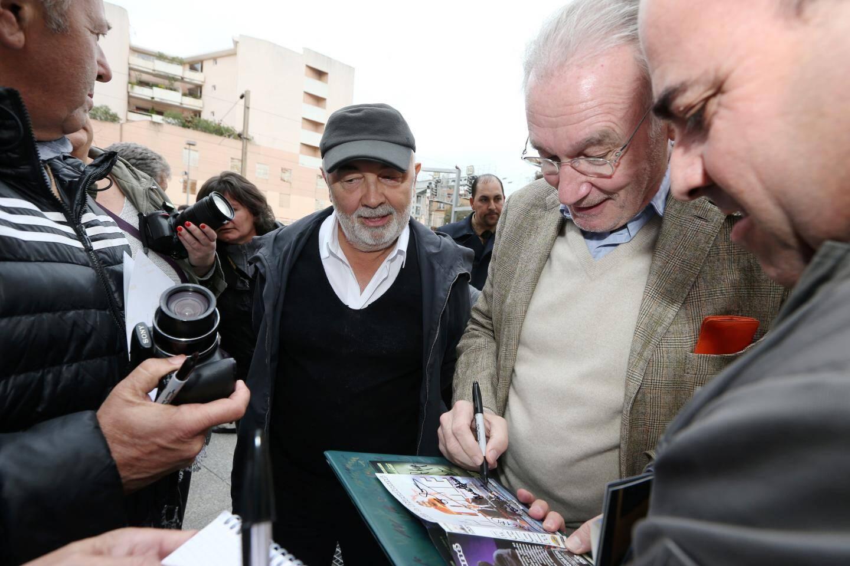 Gérard Jugnot à la rencontre de ses fans.