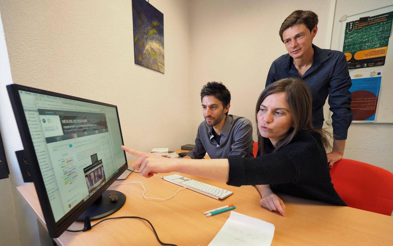 Magali Guaresi, Damon Mayaffre et Laurent Vanni de l'UMR Bases, Corpus, Langage (Université Côte d'Azur - CNRS) ont mis au point un observatoire du discours de la campagne.
