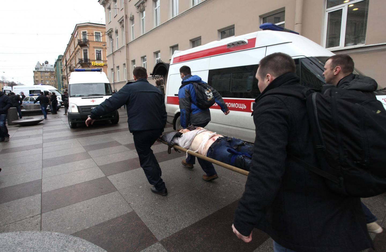 Les secours russes sont rapidement intervenus.