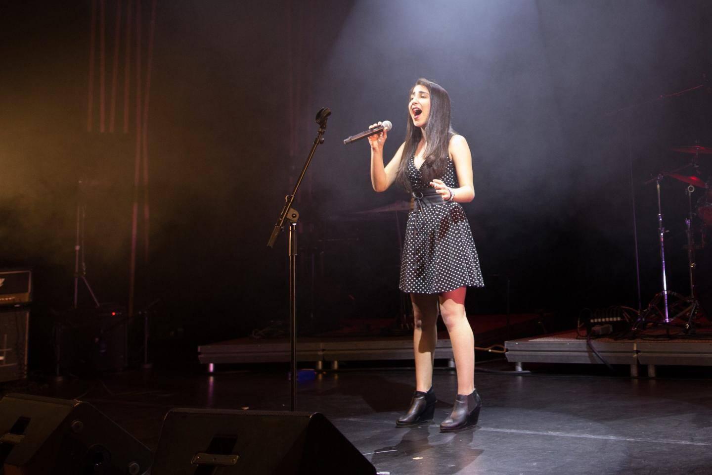 Ines Gaddacha a enchanté le public.