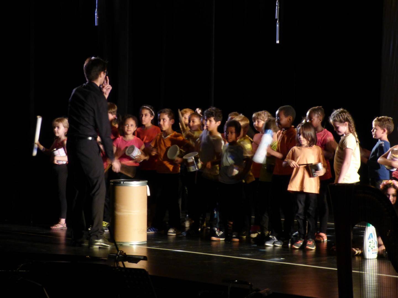 Les percussions, une affaire de précision et de rythme.