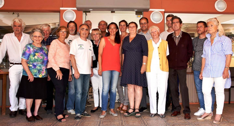 La dynamique équipe du Comité Officiel des fêtes, accueillie pour son assemblée générale dans la salle du Maurin des Maures.