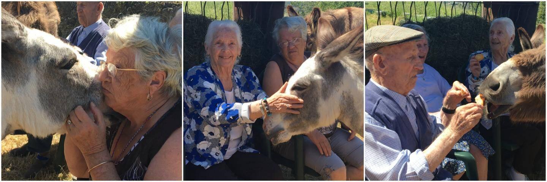 Josette, 75 ans, Jeanne, 87 ans, et Joseph, 97 ans, sont sous le charme.