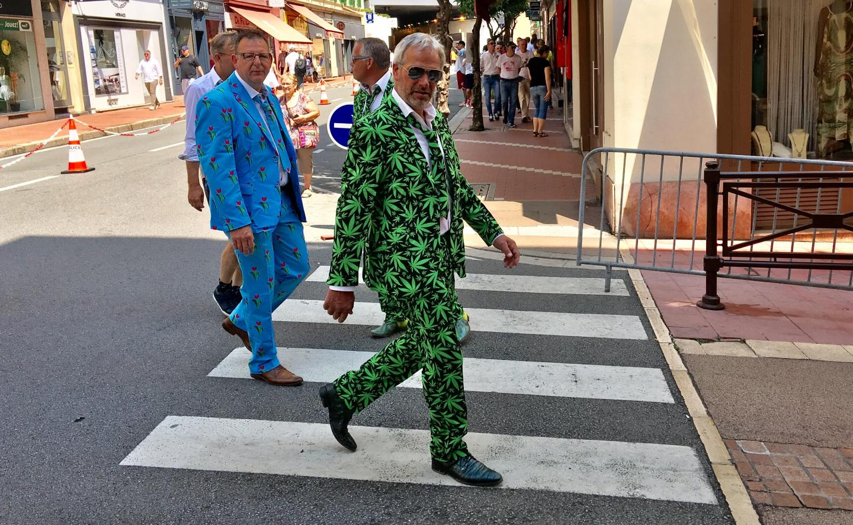Un look pour le moins original aperçu au GP de Monaco.
