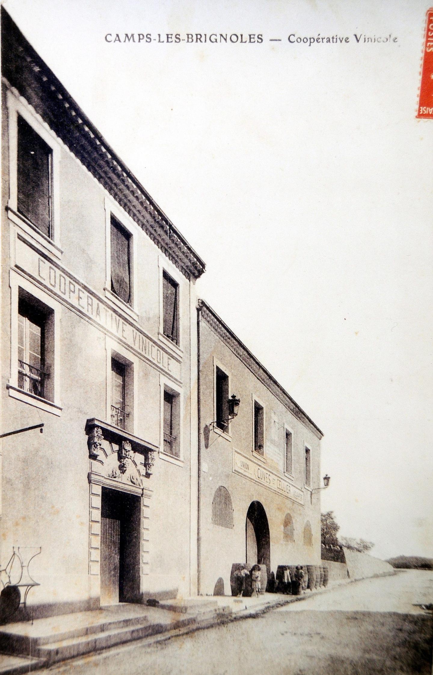 La cave au début du XXe siècle.