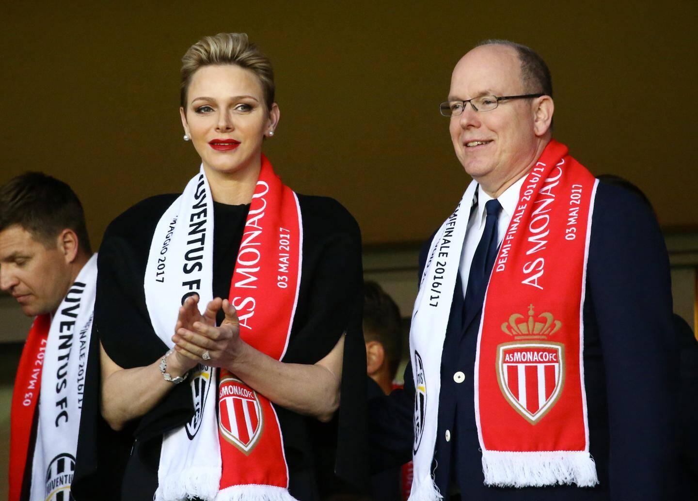 Le Prince Albert et la Princesse Charlène.