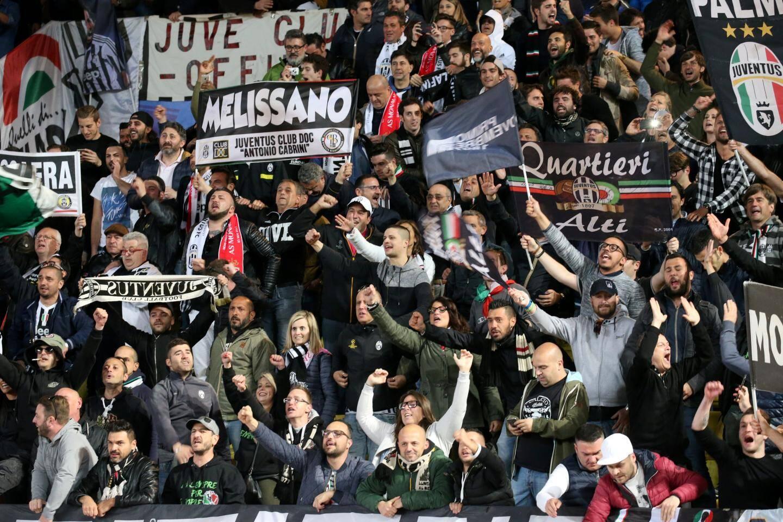 Les supporters Turinois présents dans le stade.